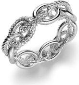 INC International Concepts Rose Pavé Link Stretch Bracelet