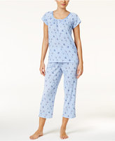 Charter Club Satin-Trim Lightweight Pajama Set, Only at Macy's