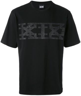 Kokon To Zai glitter logo print T-shirt