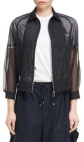 Toga Women's Sheer Bomber Jacket