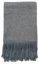 A & R Cashmere Wool Reversible Throw
