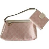 Gucci Pink Cloth Clutch bag