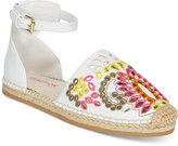 Kenneth Cole Swell Flora Closed-Toe Espadrille Sandals, Little Girls (11-3) and Big Girls (3.5-7)