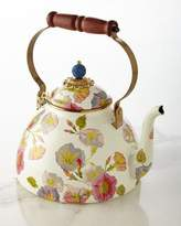 Mackenzie Childs MacKenzie-Childs Morning Glory 3-Quart Tea Kettle