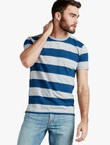 Lucky Brand Grey Label Stripe Tee