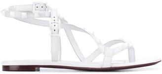 Valentino Rockstud Flair flat-flop sandals