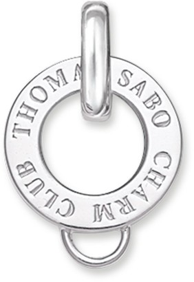 Thomas Sabo Women-Carrier Charm Club 925 Sterling silver X0017-001-12