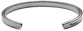 Miansai Singular Rhodium-Plated Cuff Bracelet