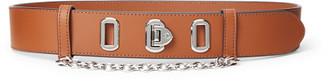 Ralph Lauren Flip-Lock Leather Belt