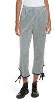 Opening Ceremony Women's Velour Tie Track Pants