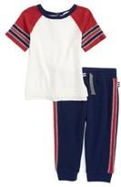 Splendid Infant Boy's Raglan T-Shirt & Sweatpants Set