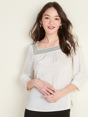 Old Navy Relaxed Square-Neck Top for Women