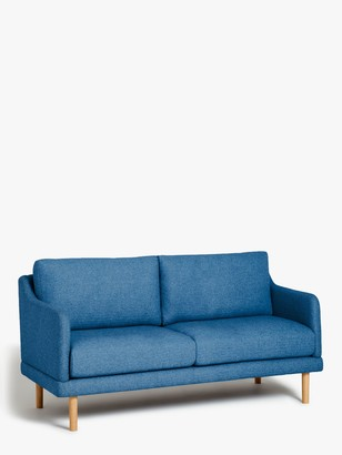 House By John Lewis House by John Lewis Sweep Medium 2 Seater Sofa, Light Leg