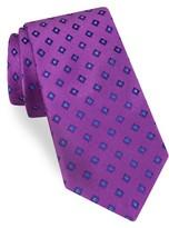 Ted Baker Men's Open Grounded Geometric Silk Tie