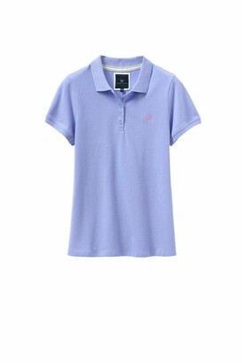 Crew Clothing Women's Exmouth Polo Shirt (Blue 12)