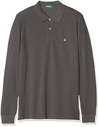 Benetton Men's Basico 2 Man Long Sleeve Top Long Sleeve Top,Small