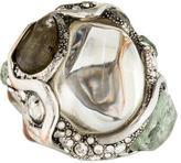 Alexis Bittar Jardin Mystère Crackle Crystal Ring