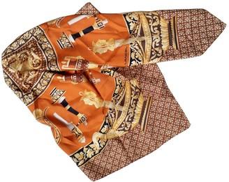 Lancel Gold Silk Scarves