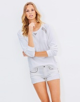 Maison Scotch Mesh Sweatshirt