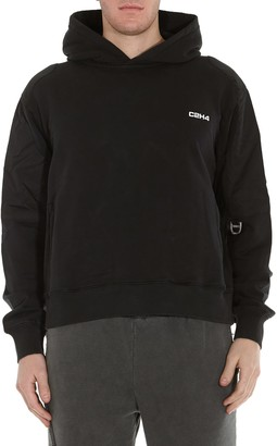 C2H4 Post Human Era Memory Supervisor Panelled Hoodie