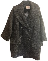 Cavallini Erika Black Wool Coat for Women
