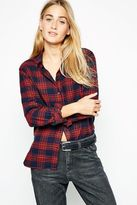 Worncliffe Boyfriend Checked Shirt