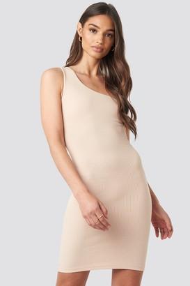 Iva Nikolina X NA-KD One Shoulder Mini dress
