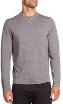 Toscano Mouline Long-Sleeve Merino Wool Sweater