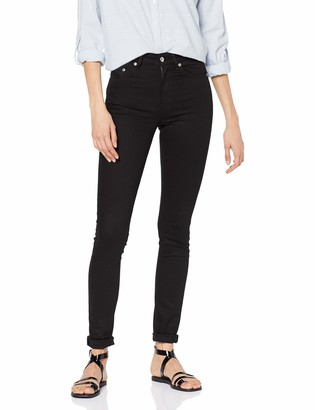 Won Hundred Women's Marilyn A Stay Black Slim Jeans Black (999) W28/L32 (Manufacturer Size:28 / 32)