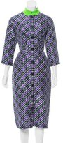 Roksanda Printed Silk Dress w/ Tags