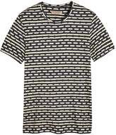 Burberry spot and stripe print T-shirt