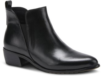 Spring Step Pull-On Leather Boots - Cozze