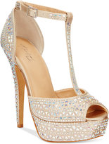 Thalia Sodi Flor Platform Dress Sandals
