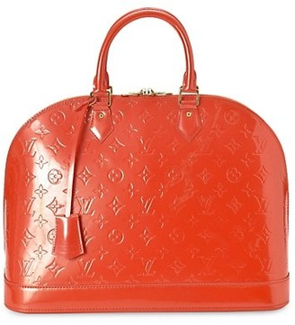Vintage Louis Vuitton Vintage Alma GM Patent Leather Dome Bag