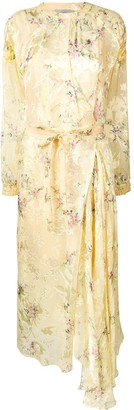 Preen by Thornton Bregazzi Floral Print Belted Dress