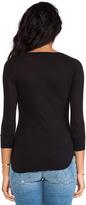 Velvet by Graham & Spencer Venice Sheer Jersey Long Sleeve