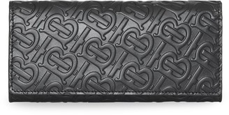 Burberry Monogram Leather Continental Wallet