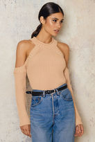 Bardot Cold Shoulder Knit