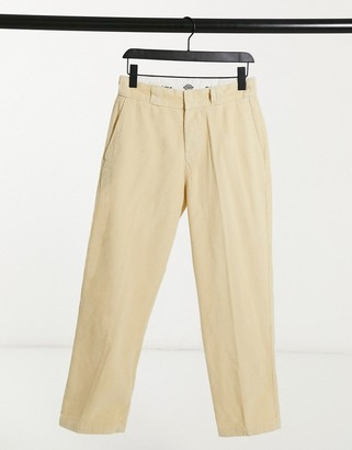 Dickies Elizaville cord pant in cream