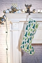 DENY Designs Zoe Wodarz Winter Green Trees Stocking