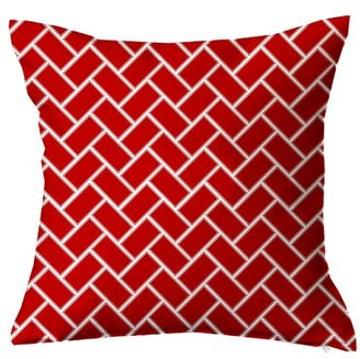 Positively Home Subway Tile Throw Pillow Positively Home