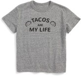 Chaser Toddler Boy's Taco Life Graphic T-Shirt