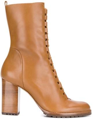 Alexandre Birman lace-up ankle boots