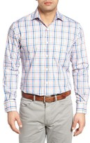 Peter Millar Men's Seafarer Plaid Sport Shirt