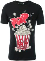 Love Moschino 'Pop Corn' print T-shirt - men - Cotton/Spandex/Elastane - S