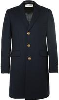 Saint Laurent Slim-Fit Wool and Silk-Blend Twill Coat
