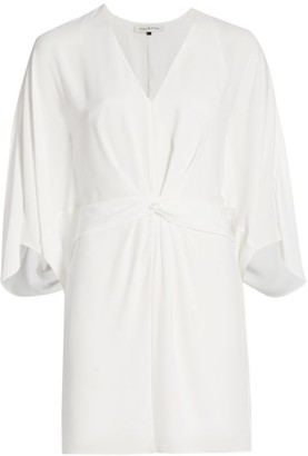 Halston Draped Twist Dress