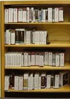 "Heller W.C. Open Back Single Face Adder Standard Bookcase W.C. Finish: Spiced Walnut, Size: 60"" H x 36"" W x 8"" D"