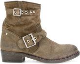Golden Goose Deluxe Brand suede biker style boots - women - Leather/Suede - 37