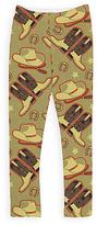 Urban Smalls Beige Cowboy Leggings - Toddler & Girls